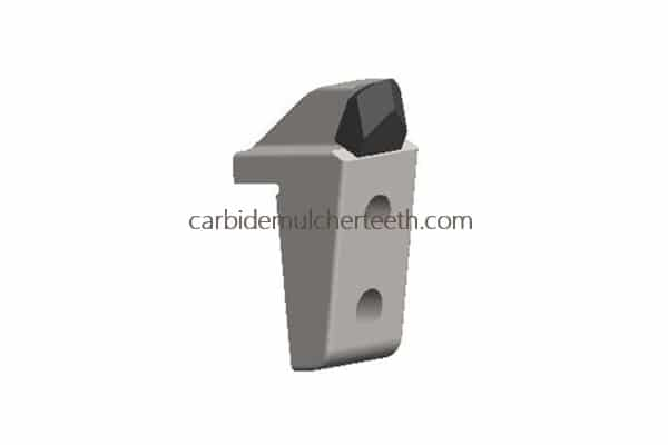 carbide mulcher teeth fitting to PLAISANCE EQUIPEMENT with 1 carbide tips, OF5 style