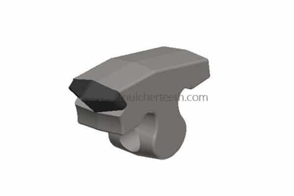 carbide tipped hammer fitting to Plaisance stone crusher with 1 carbide tips