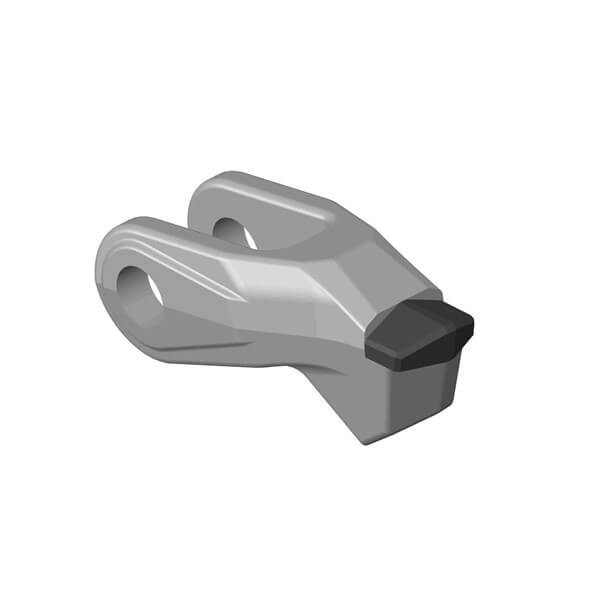 Carbide mulcher Hammer fitting to FECON mulcher with 1 carbide tips, HDT stone style