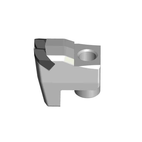 Forestry Mulcher Teeth Type C3 Style Fitting FAE Mulcher With 2 Carbide Tips