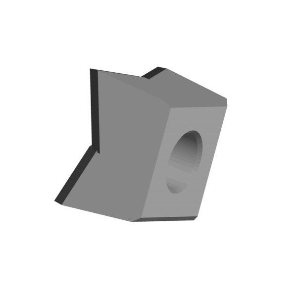Carbide Saw Teeth Fitting Forestry Mulcher Quadco QVK4X4CB-G1 Style2