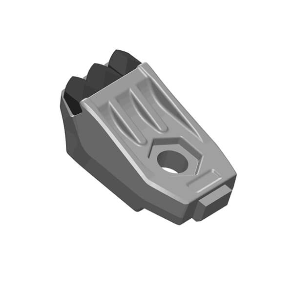 Spikes Hammer fitting to Denis Cimaf Mulcher With 3 Carbide Tips